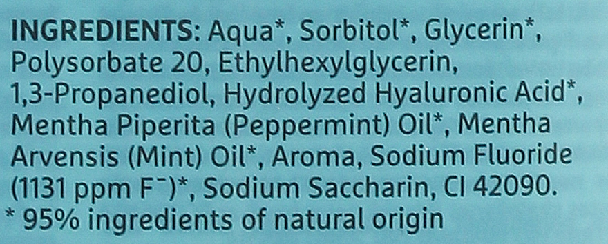 Enjuague bucal - Ecodenta Extra Refreshing Mouthwash — imagen N3