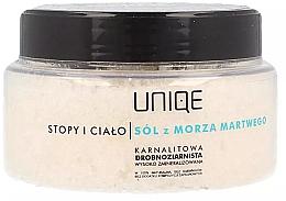 Perfumería y cosmética Exfoliante corporal con sal del Mar Muerto 100% natural - Silcare Quin Dead Sea Salt