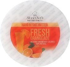 Perfumería y cosmética Manteca para manos y pies con aceites de jojoba y sésamo - Stani Chef's Fresh Orangeade Hand Foot Butter