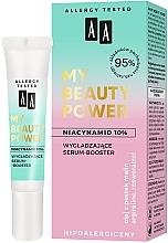 Perfumería y cosmética Sérum booster facial hipoalergénico con extracto de acerola y 10% de niacinamida - AA My Beauty Power Niacinamide 10% Smoothing Serum-Booster