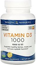 Perfumería y cosmética Complemento alimenticio vitamina D3 - Nordic Naturals Vitamin D3 Orange