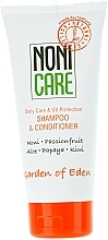 Perfumería y cosmética Champú acondicionador 2en1 con extractos de aloe vera y fruta de la pasión - Nonicare Garden Of Eden Shampoo & Conditioner