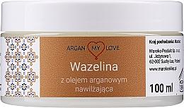 Perfumería y cosmética Vaselina con aceite de argán para rostro y cuerpo - Argan My Love