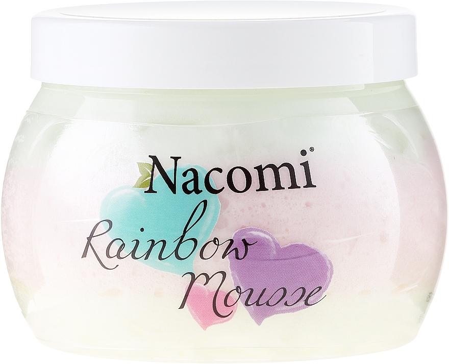 Mousse corporal con karité y aceite de coco, aroma a sandía - Nacomi Rainbow Mousse