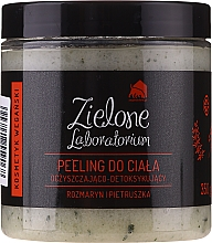Perfumería y cosmética Exfoliante corporal con romero y perejil - Zielone Laboratorium