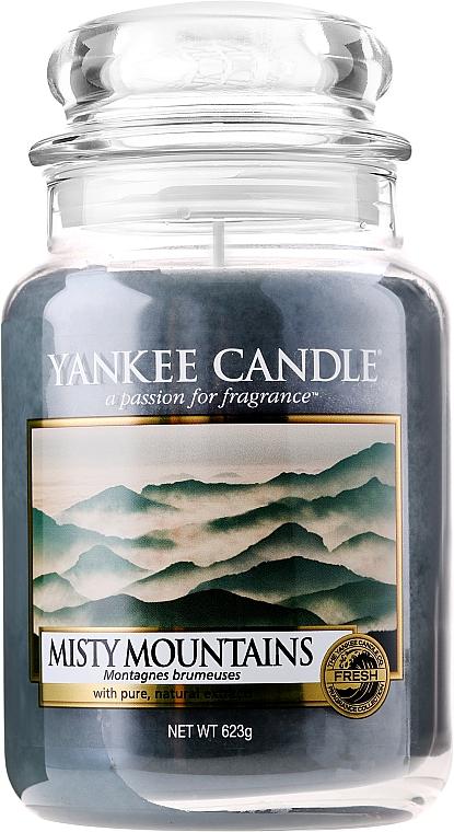 Vela aromática en tarro, montañas nubladas - Yankee Candle Misty Mountains — imagen N5