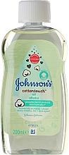 Perfumería y cosmética Aceite corporal con semilla de algodón y coco - Johnson's Baby Cotton Touch Oil