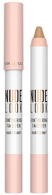 Corrector de maquillaje lápiz - Golden Rose Nude Look Contuoring Face Pen