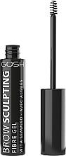 Perfumería y cosmética Gel fijador para cejas - Gosh Brow Sculpting Fibre Gel