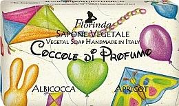 Perfumería y cosmética Jabón vegetal artesanal con aroma a albaricoque - Florinda Sapone Apricot