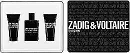 Perfumería y cosmética Zadig & Voltaire This is Him - Set (eau de toilette/50ml + gel de ducha para cuerpo y cabello/2uds./50ml)