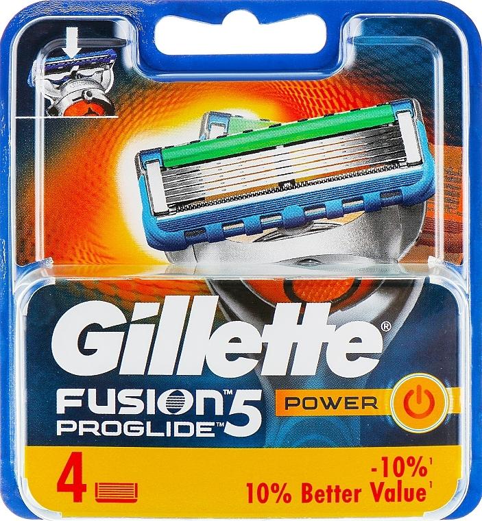 Recambios de cuchillas, 4uds. - Gillette Fusion ProGlide Power