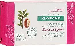 Perfumería y cosmética Jabón cremoso con manteca orgánica de cupuaçu, aroma frutal - Klorane Cupuacu Fig Leaf Cream Soap