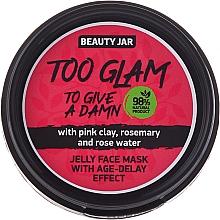 Perfumería y cosmética Mascarilla facial de gelatina con arcilla rosa & romero - Beauty Jar Too Glam To Give A Damn Face Mask