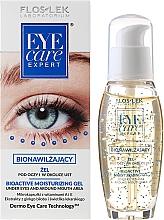 Perfumería y cosmética Gel hidratante bioactivo para contorno de ojos con extracto de ginkgo biloba - Floslek Eye Care Bioactive Moisturizing Gel Under Eyes And Around Mouth Area