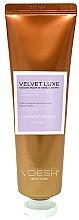 Perfumería y cosmética Crema de manos y cuerpo relajante con extracto de lavanda, vegana - Voesh Velvet Luxe Lavender Soothe Vegan Body&Hand Creme