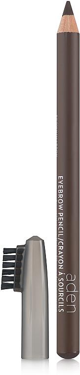 Lápiz de cejas con cepillo - Aden Cosmetics Eyebrow Pencil