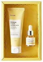 Perfumería y cosmética Set facial - iUNIK Propolis Edition Skin Care Set (mascarilla/60ml + sérum/15ml)