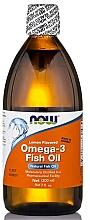 Perfumería y cosmética Complemento alimenticio aceite de pescado Omega 3 con sabor a limón - Now Foods Omega-3 Fish Oil Lemon Flavored