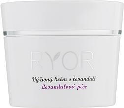 Perfumería y cosmética Crema facial nutritiva con aceite de lavanda - Ryor Lavender Nourishing Face Cream