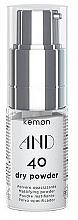 Perfumería y cosmética Polvo matificante para cabello - Kemon And Dry Powder 40
