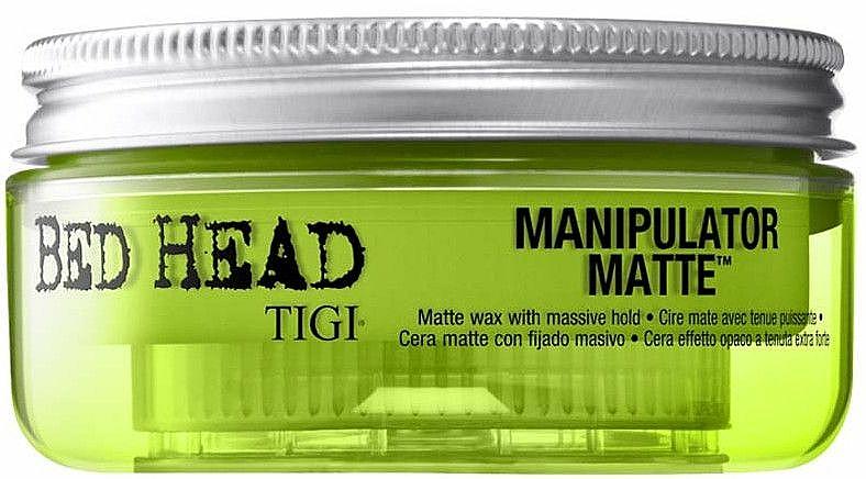 Cera con definición mate, fijación fuerte - Tigi Manipulator Matte