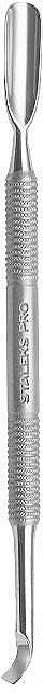 Empujacutículas bilateral de manicura de acero inoxidable, PE-30-4.3 - Staleks Pro Expert 30 Type 4.3