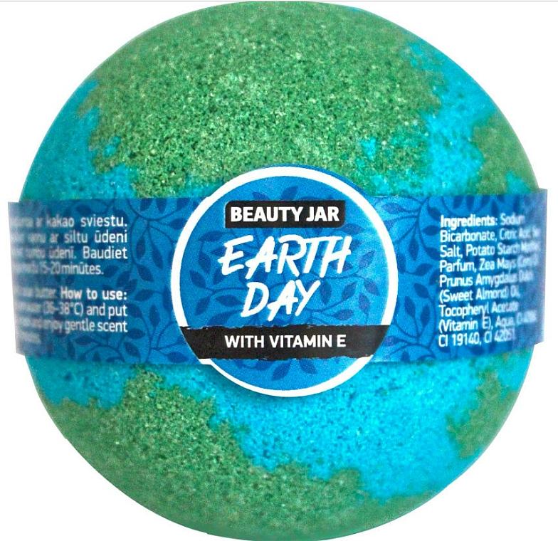 Bomba de baño efervescente con vitamina E - Beauty Jar Earth Day