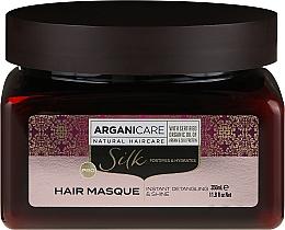Perfumería y cosmética Mascarilla para cabello de argán & seda - Arganicare Silk Hair Masque
