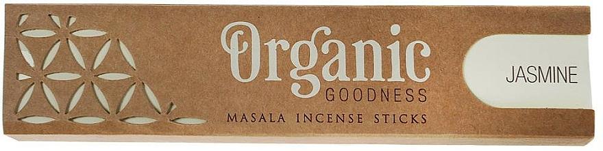 Varitas de incienso con aroma a jazmín - Song Of India Organic Goodness Jasmine
