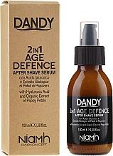 Perfumería y cosmética Sérum para después del afeitado - Niamh Hairconcept Dandy 2 in 1 Age Defence Aftershave Serum