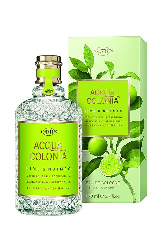 Maurer & Wirtz 4711 Aqua Colognia Lime & Nutmeg - Agua de colonia