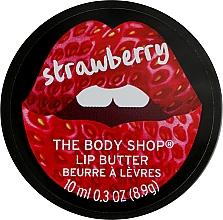 Perfumería y cosmética Manteca labial con aceite y extracto de fresa - The Body Shop Strawberry Lip Butter