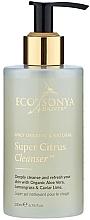 Perfumería y cosmética Gel de limpieza facial con aloe vera orgánico, limoncillo y caviar - Eco by Sonya Super Citrus Cleanser
