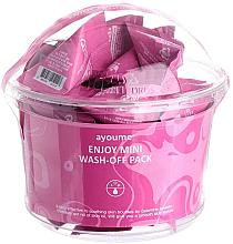 Perfumería y cosmética Mascarilla facial con polvo de calamina para pieles grasas - Ayoume Enjoy Mini Wash-Off Pack