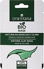 Perfumería y cosmética Mascarilla facial a base de arcilla natural con extracto de neem y té verde - Orientana