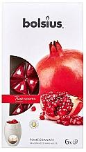 Perfumería y cosmética Cera aromática, granada - Bolsius True Scents Pomegranate
