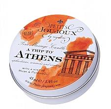 Perfumería y cosmética Vela de masaje con aroma a almizcle y pachulí - Petits JouJoux Mini A Trip To Athens