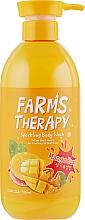 Perfumería y cosmética Gel de ducha con aroma a mango - Farms Therapy Sparkling Body Wash Mango