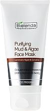 Perfumería y cosmética Mascarilla facial con arcilla y algas - Bielenda Professional Purifying Mud and Algae Face Mask