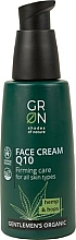Perfumería y cosmética Crema facial con coenzima Q10, extracto de cáñamo y lúpulo - GRN Gentlemen's Organic Q10 Hemp & Hop Face Cream