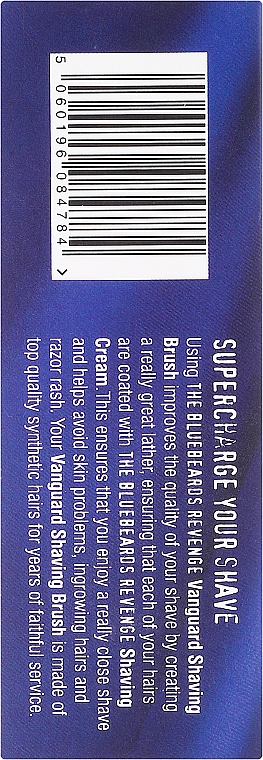 Brocha de afeitar con cerdas sintéticas - The Bluebeards Revenge The Ultimate Vanguard Brush — imagen N3