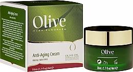 Perfumería y cosmética Crema facial con aceite de oliva y jojoba, aloe vera y manteca de karité - Frulatte Olive Anti-Aging Cream