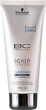 Perfumería y cosmética Champú con extractos de ortiga mayor, romero & camomilla - Schwarzkopf Professional BC Bonacure Scalp Genesis Purifying Shampoo