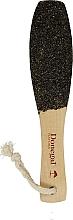 Perfumería y cosmética Lima para pies de madera - Donegal Wooden Foot File Eco Gift