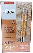 Perfumería y cosmética Set - Lierac Sunissime (fluido/40ml + bálsamo contorno de ojos/3g)