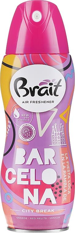 Spray ambientador con naranja y vainilla - Brait Dry Air