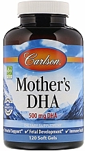 Perfumería y cosmética Complemento alimenticio en cápsulas de DHA para mujeres embarazadas y lactantes - Carlson Labs Mother's DHA
