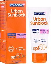 Perfumería y cosmética Crema facial piel sensible - Novaclear Urban Sunblock Protective Cream Sensitive Skin SPF50