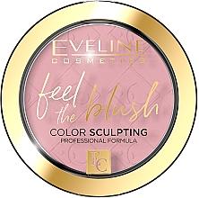 Perfumería y cosmética Colorete facial en polvo compacto - Eveline Cosmetics Feel The Blush